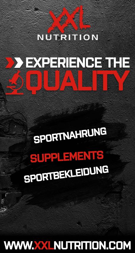 Offizieller Partner - XXL Nutrition