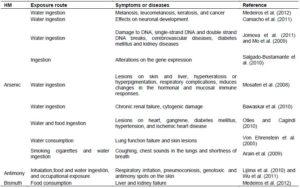 Effekte Gesundheit Schwermetalle 1