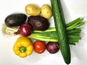Nährstoffe in Gemüse