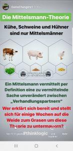 Tiere nur Mittelsmänner?