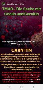 Carnitin Mangelware bei Veganismus