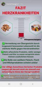 Bewusste Kost Game Changers für Herzkrankheiten