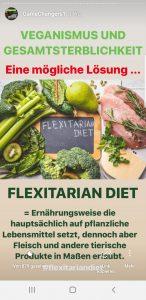 Flexitarian Diet Game Changers für Gesamtsterblichkeit