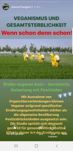 Pestizidbelastung Pflanzen