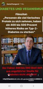 Tierisches Protein erhöht Diabetesrisiko