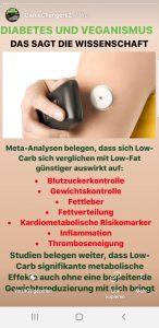 LowCarb Ernährung gegen Diabetes