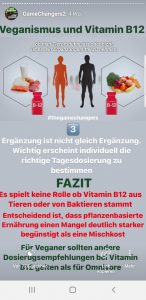 Game Changers Theorie von Vitamin B12